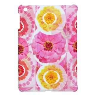 Flower ZINNIA Collage - Enjoy n Share JOY iPad Mini Cases