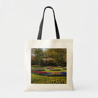 Flowerbeds at Keukenhof, Netherlands  flowers Tote Bag