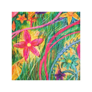 Flowerburst #1 canvas print