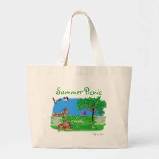 Flowerchain by The Happy Juul Company Large Tote Bag