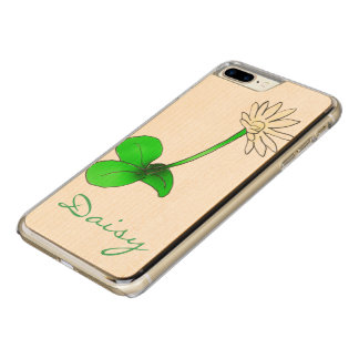 Flowerchain & Fresh Daisies by The Happy Juul Comp Carved iPhone 8 Plus/7 Plus Case