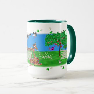 Flowerchain Rainbow & Lila The Happy Juul Company Mug