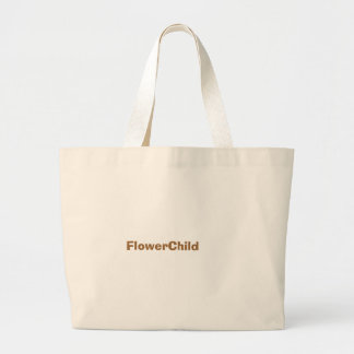 FlowerChild Jumbo Tote Bag