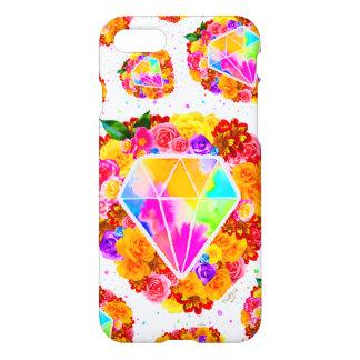 Flowered Diamond iPhone 8/7 Case