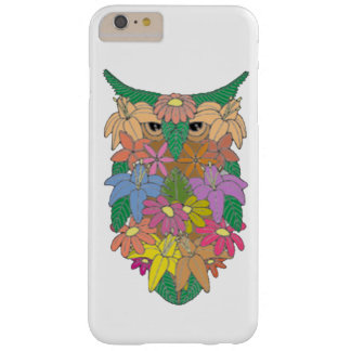 Flowered Owl Barely There iPhone 6 Plus Case