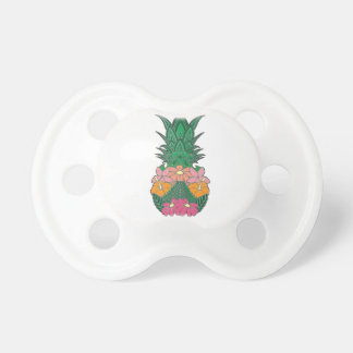 Flowered Pineapple Pacifier