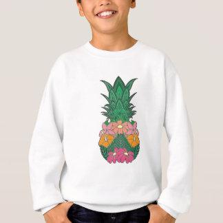 Flowered Pineapple Sweatshirt