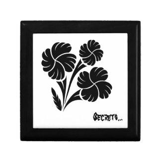 Flowered trio… keepsake boxes