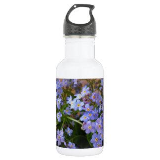 Flowered Water Bottle