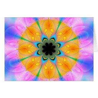 flowerfeathers card