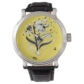 Flowerhead Timepiece Watch