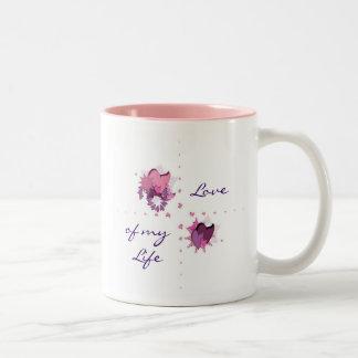 FlowerHearts 01 Two-Tone Mug