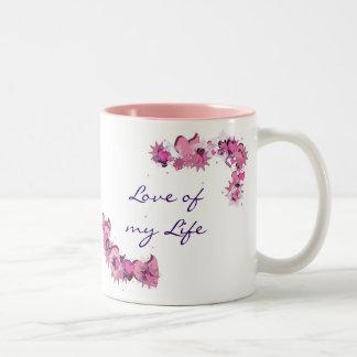 FlowerHearts 02 Two-Tone Coffee Mug