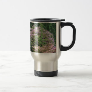 Flowering Bush Stainless Steel Travel Mug