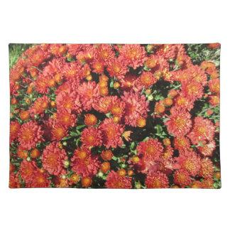 Flowering Chrysanthemum Placemat