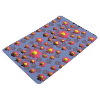 Flowering floor mat