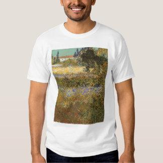 Flowering Garden by Vincent van Gogh T Shirts
