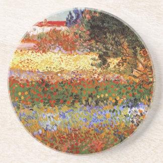 Flowering Garden (F430) Van Gogh Fine Art Coaster
