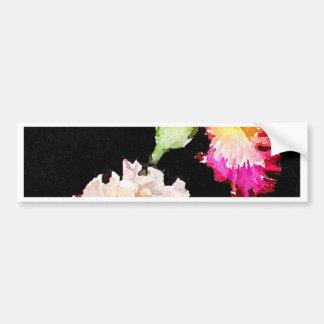 Flowering Iris Bumper Sticker
