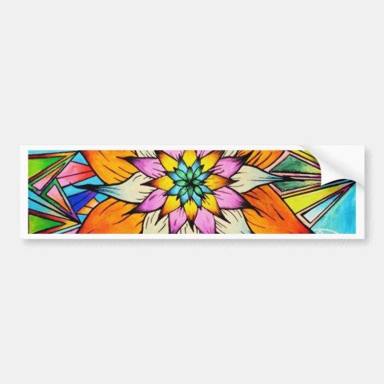Flowering Life Bumper Sticker
