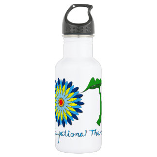 Flowering OT letters 532 Ml Water Bottle