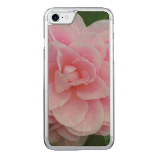 Flowering Pink Camelia Carved iPhone 8/7 Case