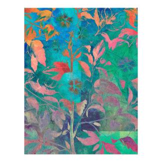 FLOWERING PLANT LETTERHEAD
