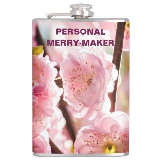 Flowering Plum - Pink Paradize Hip Flask