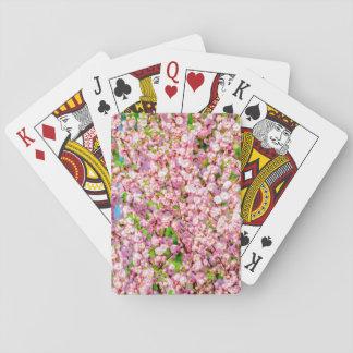 Flowering Plum Poker Deck