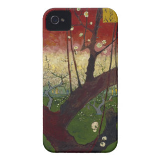 Flowering plum tree Barely There™ iPhone 4 iPhone 4 Case-Mate Case