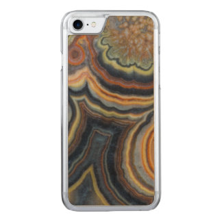 Flowering tube onyx carved iPhone 8/7 case