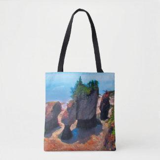 Flowerpot Rocks Tote Bag