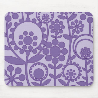 flowerpower 6 mouse pad