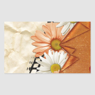 flowers-106565 SCRAPBOOKING DECORATIVE  flowers gr Stickers