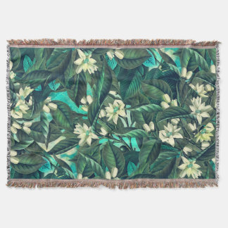 flowers 16 throw blanket