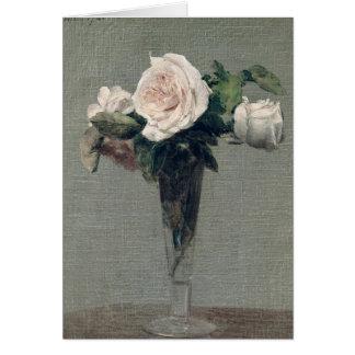 Flowers, 1872 card