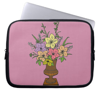 Flowers 1 laptop sleeve