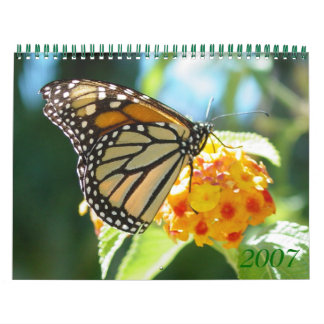 Flowers 2007 calendar