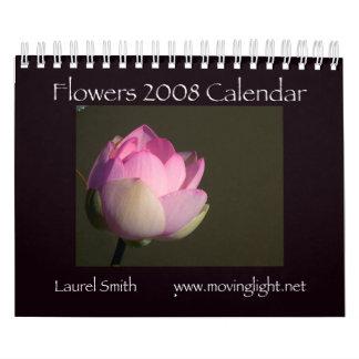 Flowers 2008 Calendar