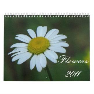 Flowers 2011 wall calendar