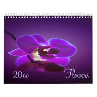 Flowers 2017 Calendar