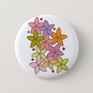 Flowers 2 Inch Round Button