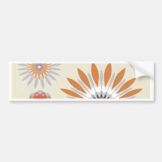 Flowers 33 bumper sticker
