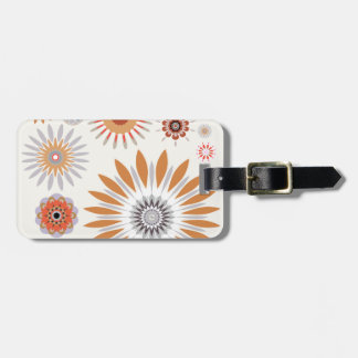 Flowers 33 luggage tag