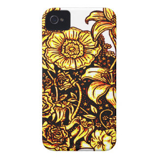 Flowers 3 Case-Mate iPhone 4 cases