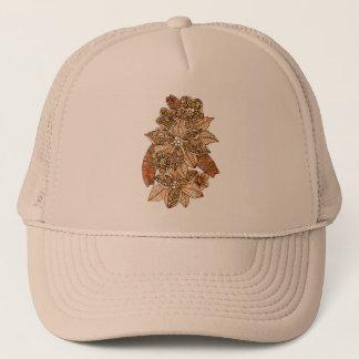 Flowers 4 trucker hat