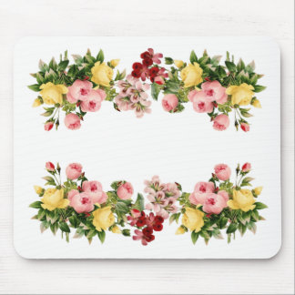 Flowers All Around Mouse Pad