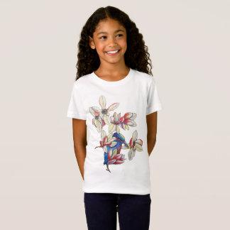 flowers and a bird T-Shirt