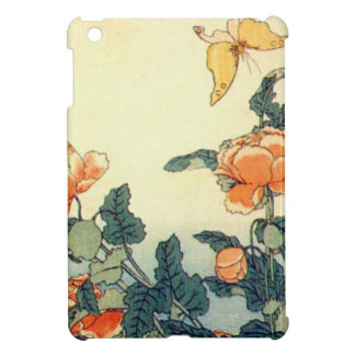 Flowers and a Butterfly Case For The iPad Mini