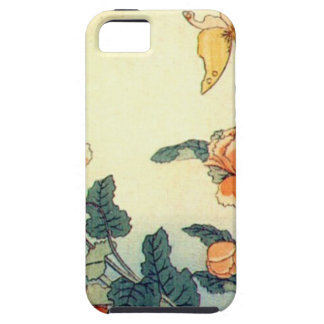 Flowers and a Butterfly iPhone 5 Case